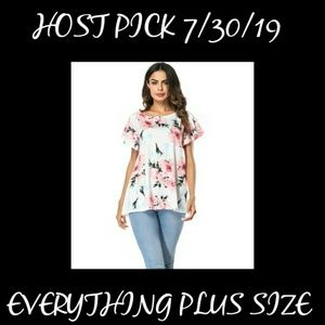 ONLY 3 LEFT!!! - Floral Pattern Top